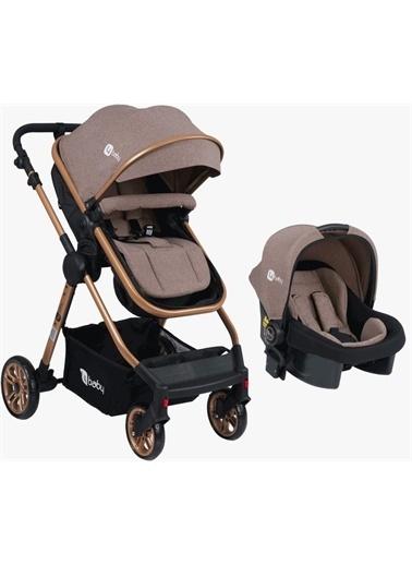 4 Baby Four Baby Comfort Gold Travel Bebek Arabası Ab-490 Kahve